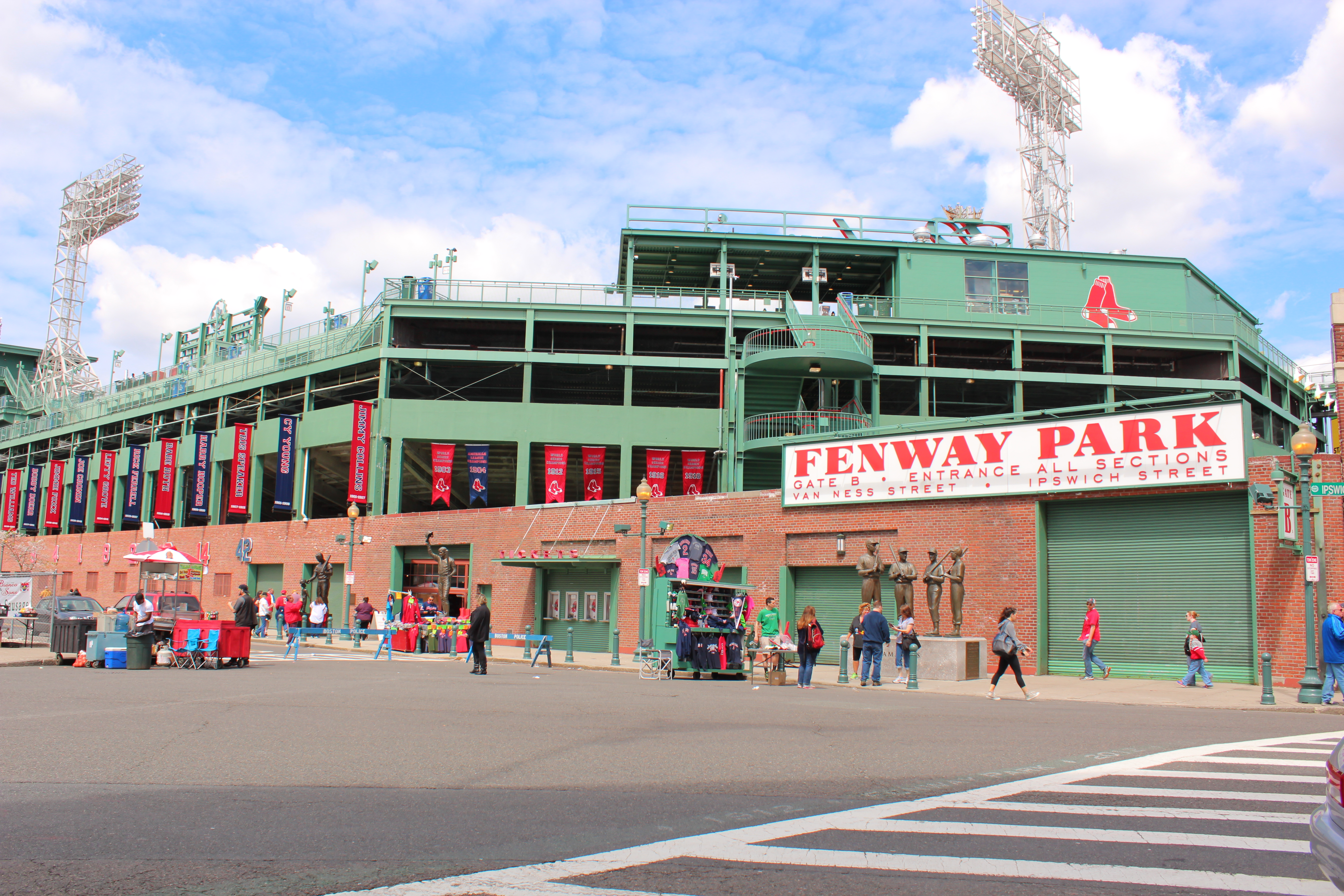 Outside Fenway Park Pictures To Pin On Pinterest Thepinsta